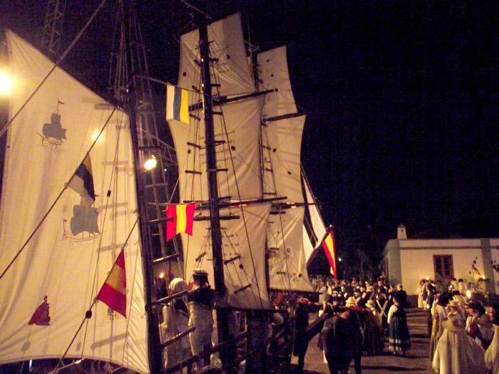 Segelschiffe als Blickfang