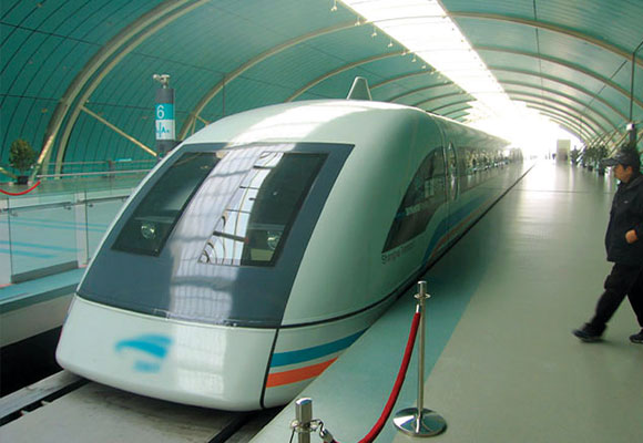 Der Transrapid in Shanhai
