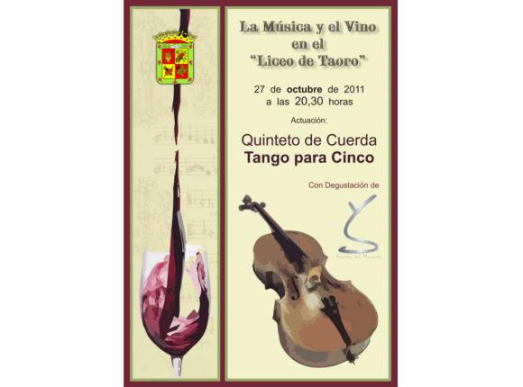 La música y el vino
