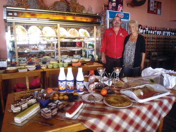 Mit viel Elan, Freundlichkeit und neuen Ideen verwöhnen Sylvia und Tomás ihre Gäste.