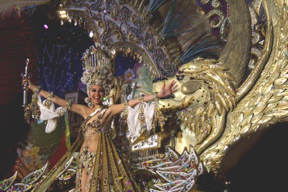 Karnevalskönigin 2012 von Santa Cruz