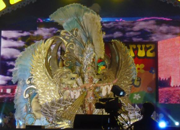 Die Karnevalskönigin 2012