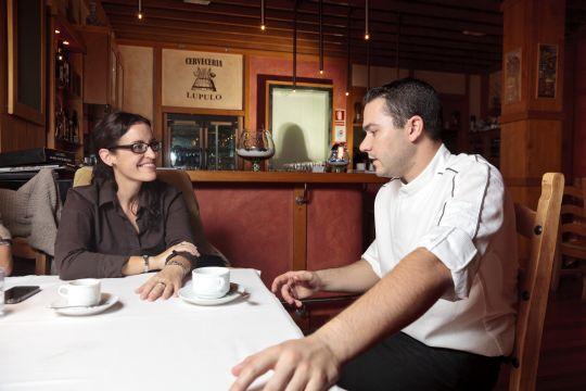 Nadine García Breuer von www.myperfectwedding.eu, empfiehlt das Restaurant gerne Gästen, die in nahe gelegenen Luxushotels wohnen.