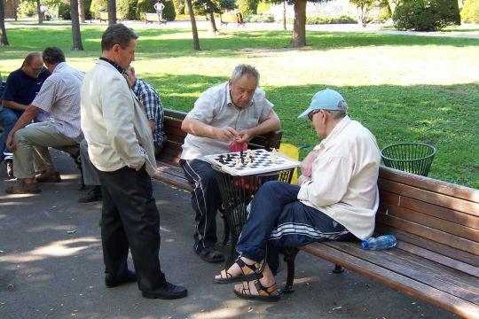 Schachspielen gehört zu den Freizeitbeschäftigungen, die Spa´machen und gleichzeitig das Gedächtnis trainieren.