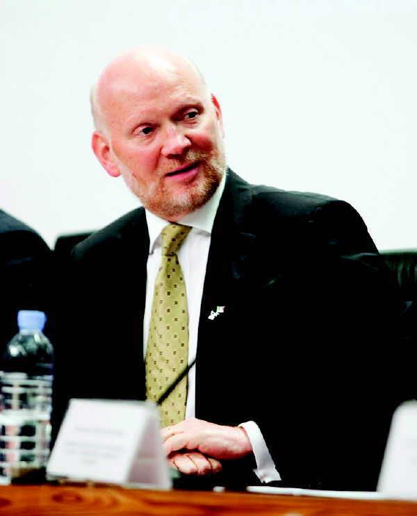 Justin Harman, Irish Ambassador to Spain