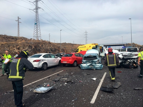 Glücklicherweise wurde bei dem Unfall niemand tödlich verletzt.