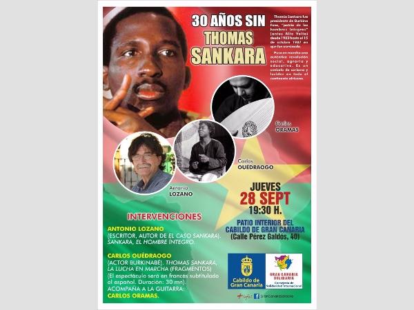 Hommage an den Frauenrechtler Thomas Sankara