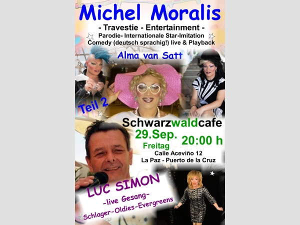Travestie-Show mit Alma van Satt