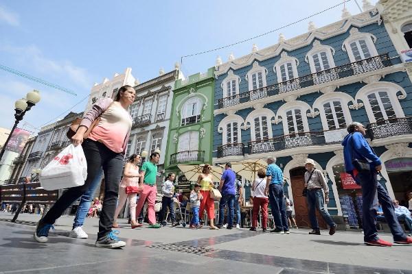 In Las Palmas darf am Wochenende gebummelt werden.