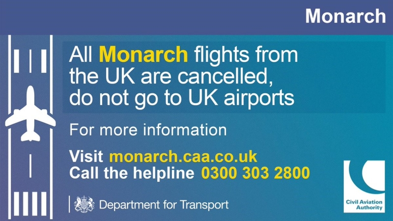 Monarch Air hat dem Preisdruck nicht mehr standgehalten.