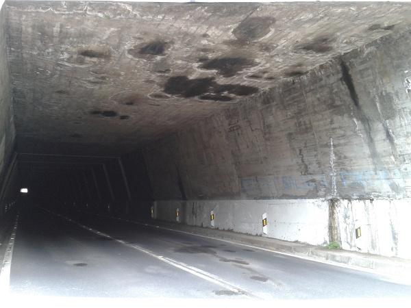 Der Tunnel Yorima musste aus Sicherheitsgründen eine Zeit lang gesperrt werden.
