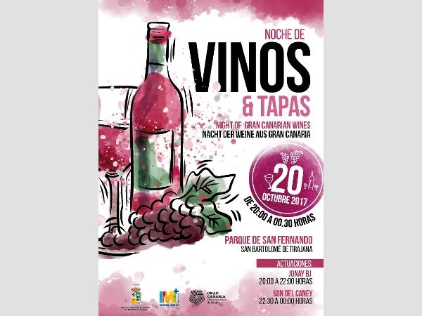 Nacht der Weine aus Gran Canaria