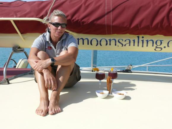 Mit Mareike Guhr um die Welt segeln.