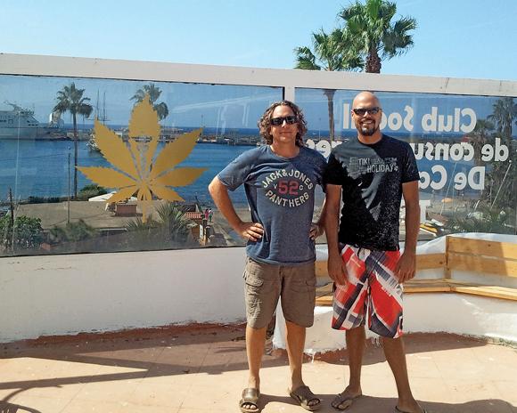 Die beiden Köpfe des Clubs: Arnaud aus Frankreich und Stephan aus Deutschland.