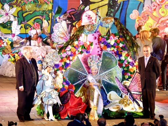 Puertos Kinder-Karnevalskönigin 2013