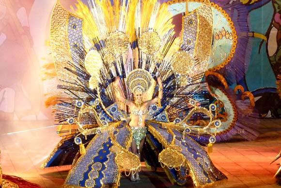 Karnevalskönigin von Puerto de la Cruz, Cristina Esperanza Perera