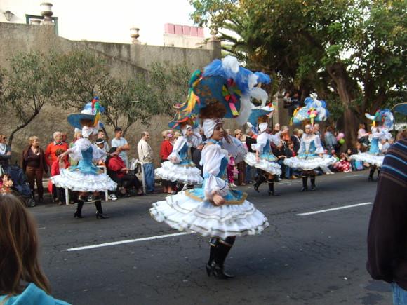Karnevalsumzug in Puerto de la Cruz