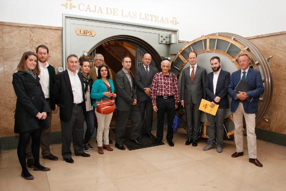 Indisch-spanisches Treffen der Filmindustrie.