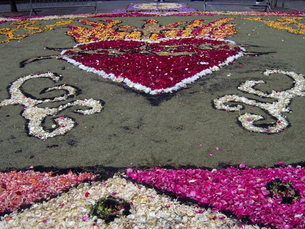Corpus Christi 2008 in La Laguna - Fronleichnam auf Teneriffa