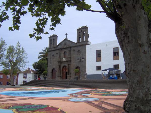 Corpus Christi 2008 in Tacoronte - Fronleichnam auf Teneriffa