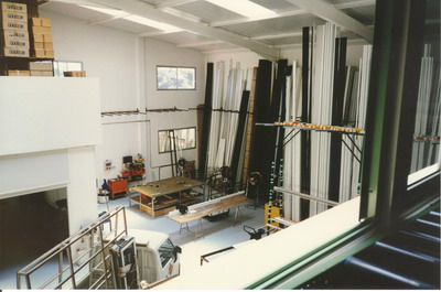 Grupo Unisol Tecnoalu S.L. Produktionshalle in Santa Ursula