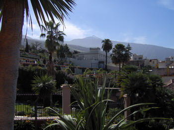 La Orotava mit Blick auf den Teide