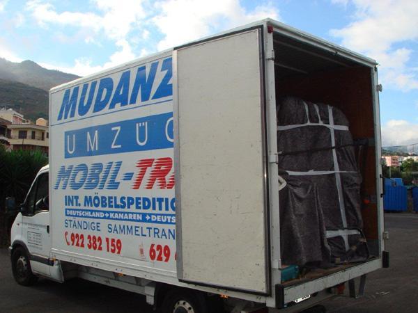 MobilTrans Mudanzas Servicio de entrega