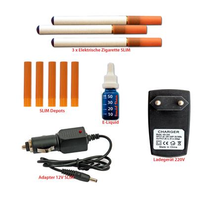 Liquidshop Die elektrische Zigarette Slim