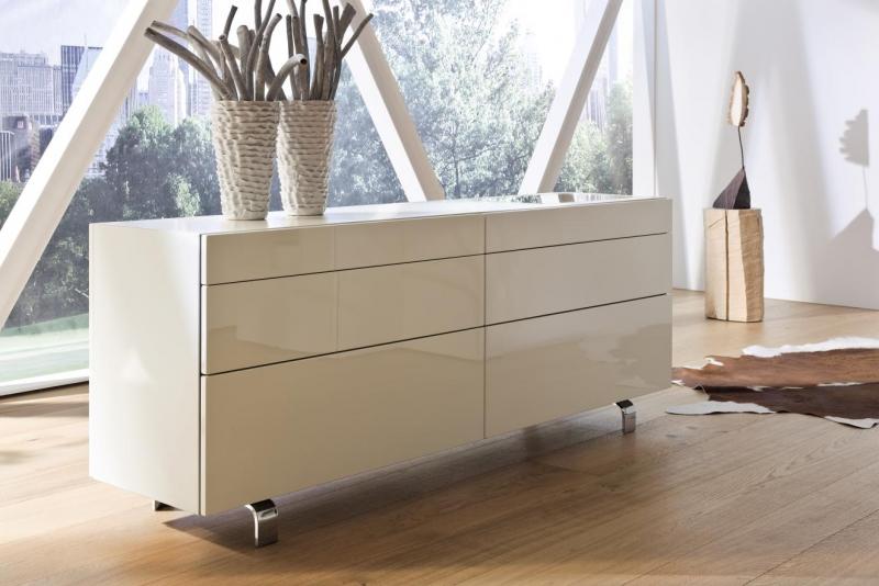 lowboard wei hochglanz h lsta. Black Bedroom Furniture Sets. Home Design Ideas
